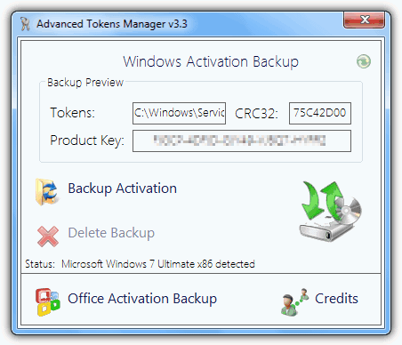 recover my microsoft office 2010 product key