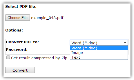 SautinSoft PDF to Word Online Free