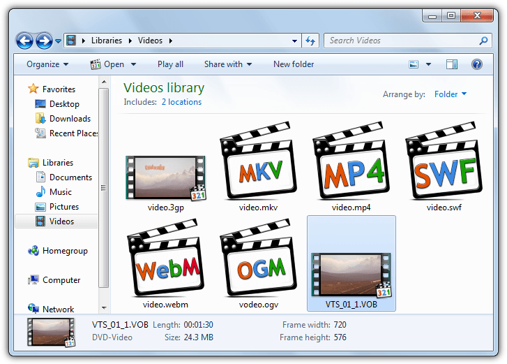 3 Ways To Display Thumbnail Previews For All Video Files