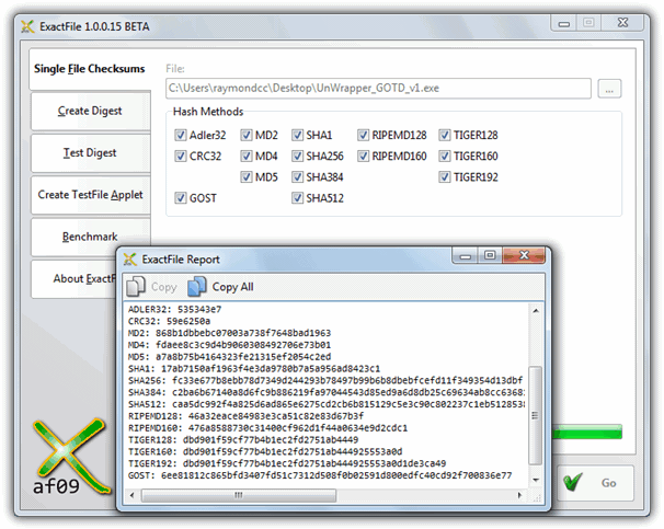 10 Tools to Verify File Integrity Using MD5 and SHA1 Hashes