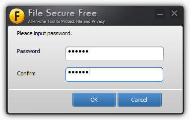 password protect file secure
