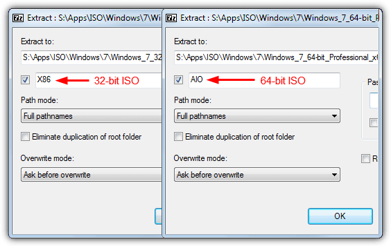 iso edition extract path