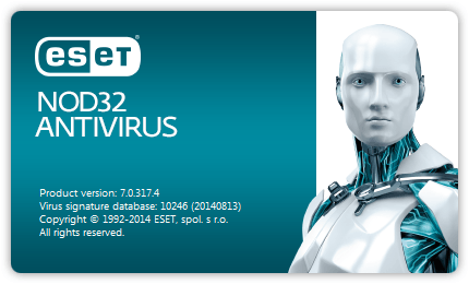 eset nod32 splash screen