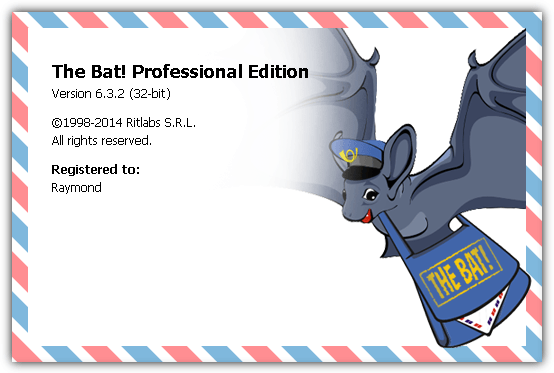 the bat splash screen