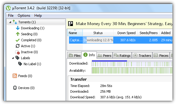 mullvad download speed