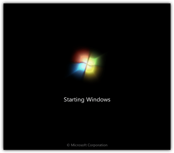 windows7 splash screen
