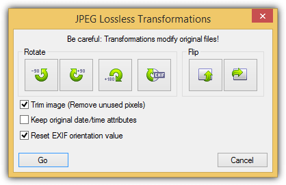 jpeg lossless transformations trim image