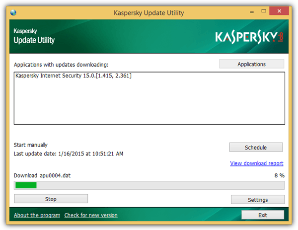Create Kaspersky Update Server Mirror for Offline Updates • Raymond CC