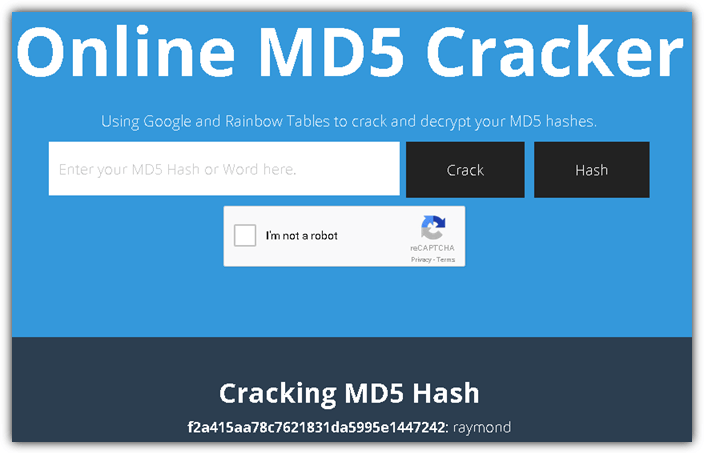 10 Websites to Easily Help Decrypt MD5 Hashed Strings