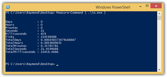 powershell measure command