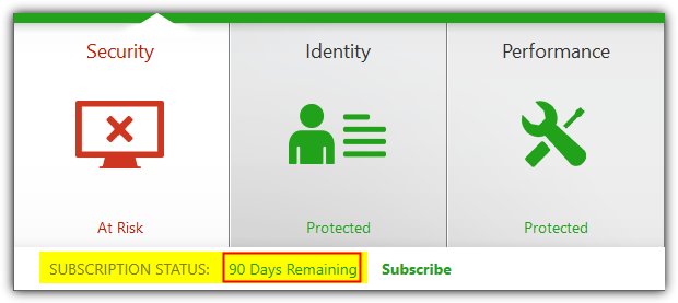 norton security 90 days subscription
