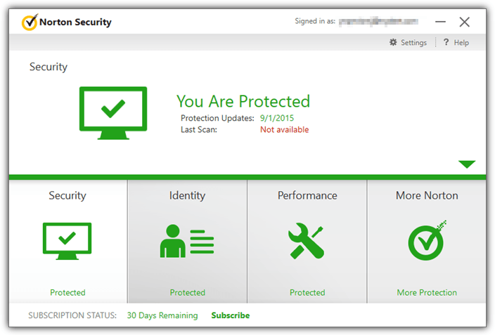 Download Norton Security 2015 with Free 90 Days Trial
