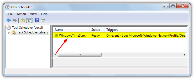 windowstimesync task