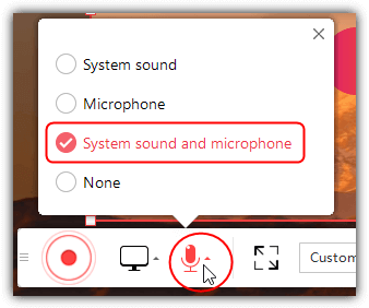 showmore system sound and microphone