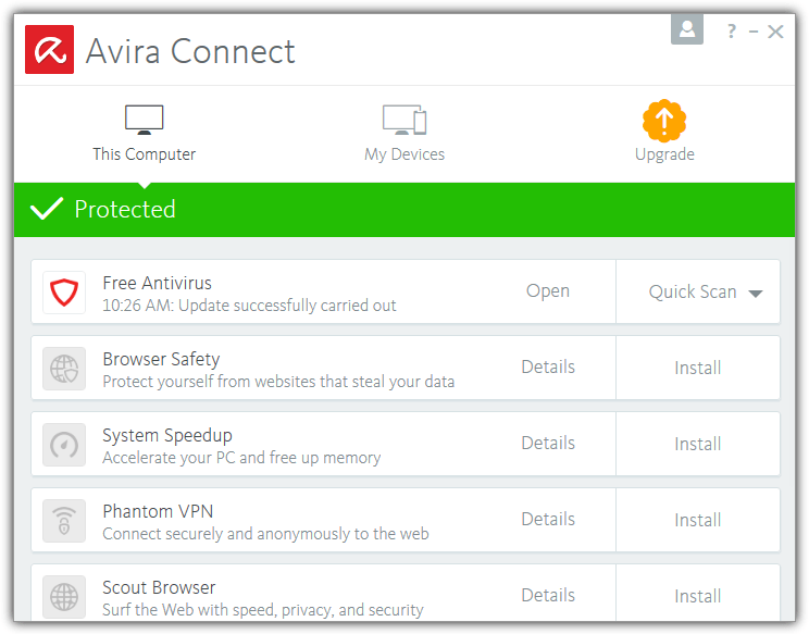 Avira Connect Launcher