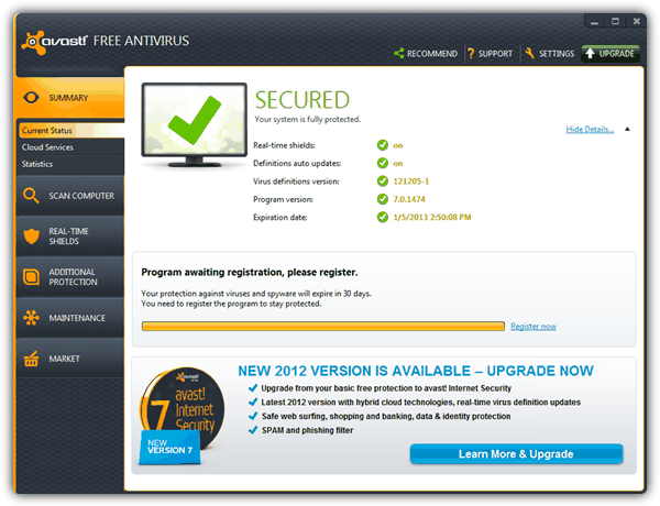 Comprehensive List of Free AntiVirus 2013 • Raymond CC