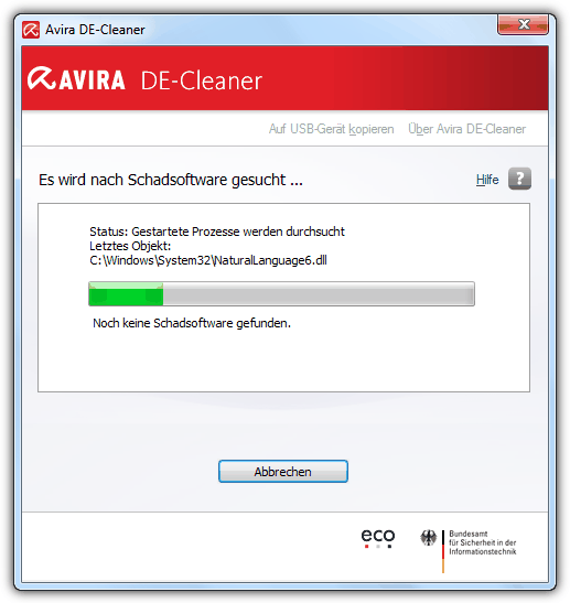 Avira DE-Cleaner
