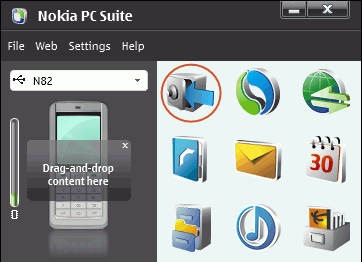 Backup Nokia Phone