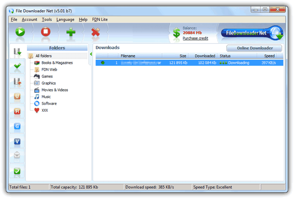 FileDownloader PRO