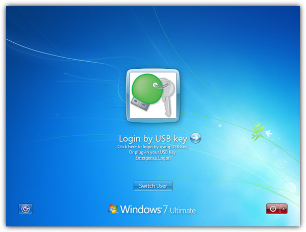 Login by USB Key