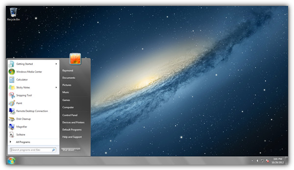 OSX Mountain Lion theme