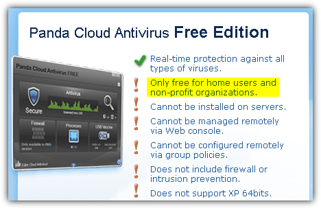 List of Free Antivirus for Commercial use in Corporate and