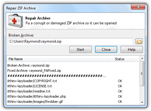 6 Ways to Repair and Extract Invalid ZIP Files for Free \u2022 Raymond.CC