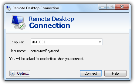 Remote Desktop Connection Port