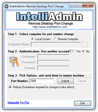 Change the Listening Port for Microsoft Remote Desktop