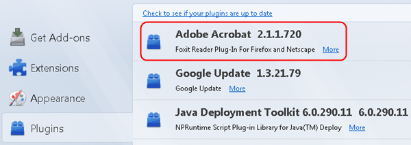 Spoof Foxit Reader as Adobe Acrobat