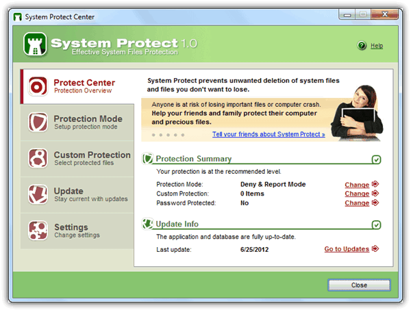 Protect Windows System