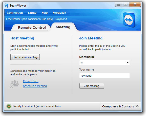 TeamViewer Meeting