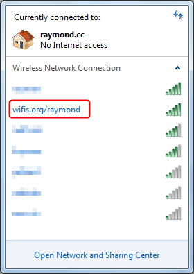 Wifis.org SSID