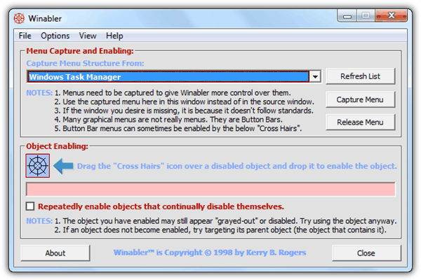 6 Tools to Forcefully Enable Grayed Out Disabled Buttons