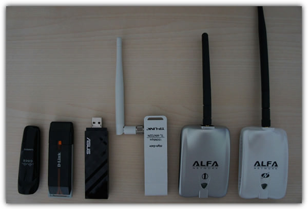 tested wireless adapters on backtrack
